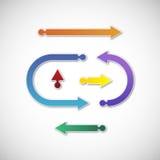 Pijlen Stock Afbeelding