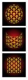 pijlen Royalty-vrije Stock Foto's