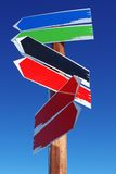 Pijlen Stock Foto's