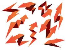 Pijlen Geplaatst Pak vector illustratie