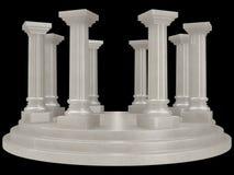 Pijler Royalty-vrije Stock Foto's