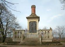 Pijler aan Gevallen, Rudelsburg, Duitsland Royalty-vrije Stock Foto