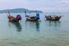 Pijler bij Chalong-Baai, Phuket, Thailand Royalty-vrije Stock Foto's
