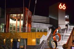 Pijler 66 bij Nacht, Seattle, Washington Stock Fotografie