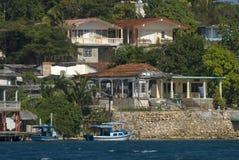 Pijler, Cienfuegos-Baai, Cuba stock afbeeldingen
