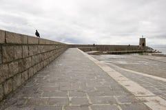 Pijler in een bewolkte dag Royalty-vrije Stock Fotografie