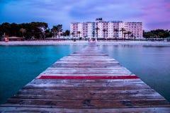 Pijler in Mallorca stock foto
