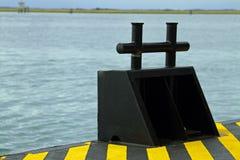 Pijler om schepen op het overzees vast te leggen Royalty-vrije Stock Fotografie