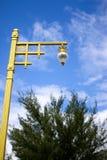 pijler op hemel Stock Afbeelding