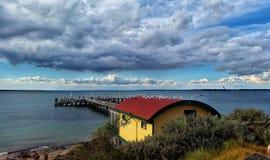 Pijler in Phillip Island royalty-vrije stock afbeelding