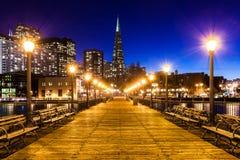 Pijler 7 in San Francisco stock fotografie