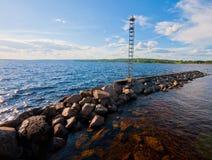 Pijler in Siljan Royalty-vrije Stock Fotografie