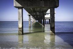 Pijler 60 van het Clearwaterstrand Stock Foto