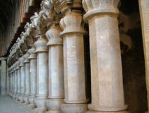Pijlers royalty-vrije stock fotografie