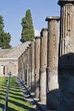 Pijlers in Pompei royalty-vrije stock foto