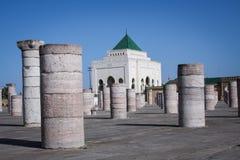 Pijlers - Rabat Stock Foto