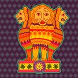 Pijlers van Ashoka royalty-vrije illustratie