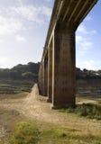 Pijlers van een brug Royalty-vrije Stock Afbeeldingen