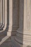 Pijlers van het Hooggerechtshof van de Verenigde Staten stock afbeeldingen