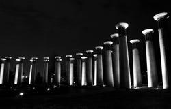 Pijlers van Licht stock fotografie