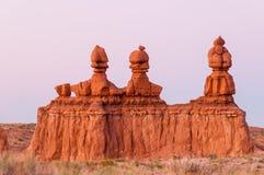 3 pijlers van Moab Royalty-vrije Stock Afbeeldingen