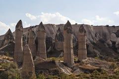 Pijlers van steen 5 Stock Foto's