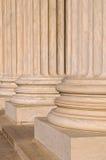 Pijlers van Wet en Informatie Royalty-vrije Stock Foto