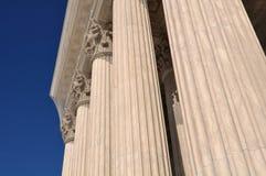 Pijlers van Wet en Rechtvaardigheid royalty-vrije stock afbeeldingen
