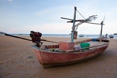 Pijlinktvis boat2 Royalty-vrije Stock Foto's