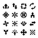 Pijlpictogram stock illustratie