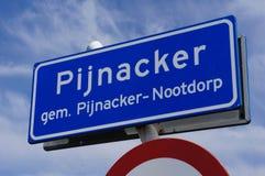 Pijnacker, Нидерланды Стоковое Изображение