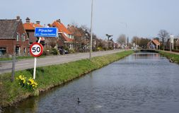 Pijnacker, die Niederlande lizenzfreie stockfotografie