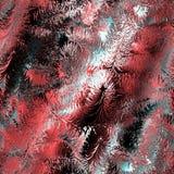 Pijnboom abstracte kleurrijke achtergrond Royalty-vrije Stock Fotografie