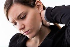 Pijnstiller voor pijn en pijn wordt gewild die stock afbeelding