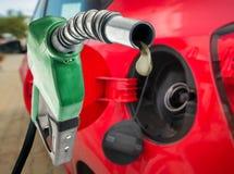Pijp met laatste daling van brandstof royalty-vrije stock foto's