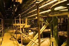 Pijpen, machines, buizen en turbine stock afbeeldingen