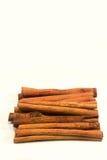 Pijpjes kaneel Stock Foto's