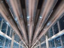 Pijpleiding bij Petronas-toren Royalty-vrije Stock Afbeelding