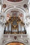 Pijporgaan St Stephen& x27; s Kathedraal Royalty-vrije Stock Afbeeldingen