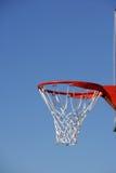 piłka koszykowy hoop Obraz Stock