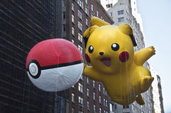Pikachu气球 免版税库存图片