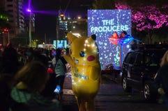 Pikachu - Adelaide Fringe 2017 Royalty-vrije Stock Foto