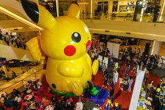 Pikachu balloon Stock Image