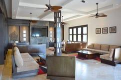 Pikaia Lodge Lobby Stock Photo