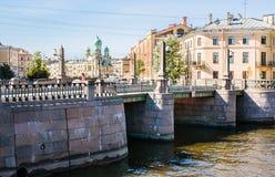 Pikalov bridge Stock Images