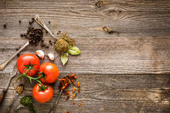 pikantność świezi pomidory zdjęcie royalty free