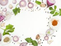 Pikantność melanżerów jedzenie odizolowywa na białym tle Fotografia Stock
