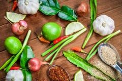 Pikantność Tajlandia I krajowy warzywo Obrazy Stock