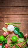 Pikantność Tajlandia I krajowy warzywo Zdjęcie Stock