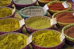 Pikantność w rynku w Provence, Francja Zdjęcie Stock